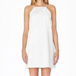 NWT Parker Rally Paneled Shift dress in Ivory